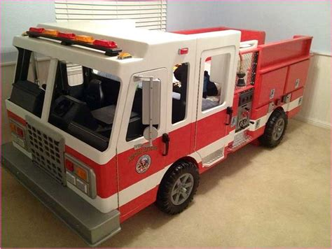 fire engine toddler bed diy toddler fire truck bed fun ideas toddler fire truck