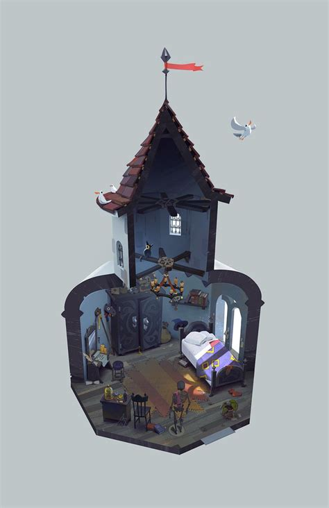 game design apprenticeships concept art of the apprentice magician room that s my