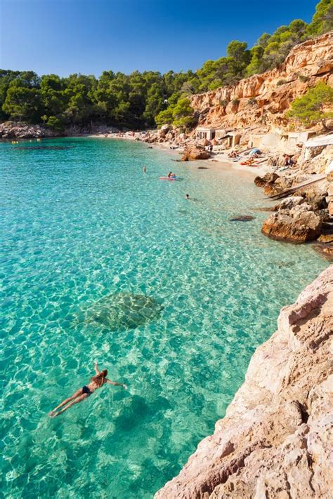 best beaches in ibiza thelist vacation like a victoria s secret model ibiza