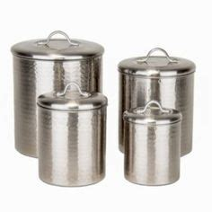 old dutch 4 pc copper kitchen canister set amazon com old dutch 4 piece hammered canister set