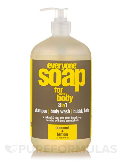 Soap And 3 And 1 Detox Wash by Everyone 174 Soap 3 In 1 Shoo Wash Bath