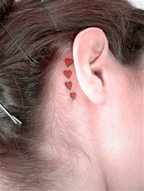 small tattoos for behind the ear pictures ear images designs
