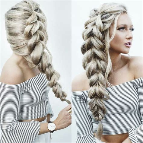 Fashion Find Easy Extensions by Best 25 Pull Through Braid Ideas On Braids