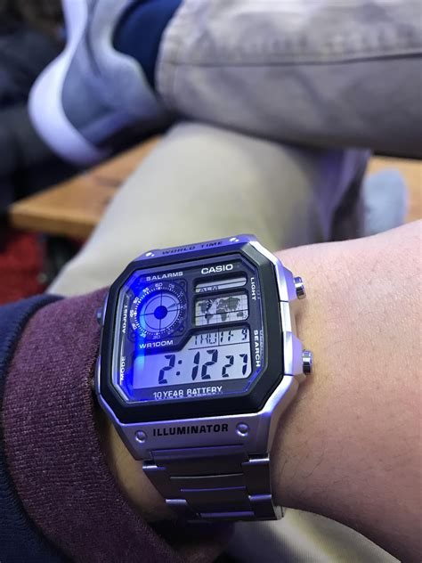 Casio Ae1200whd 1 casio the casio royale s ae1200whd 1a stainless