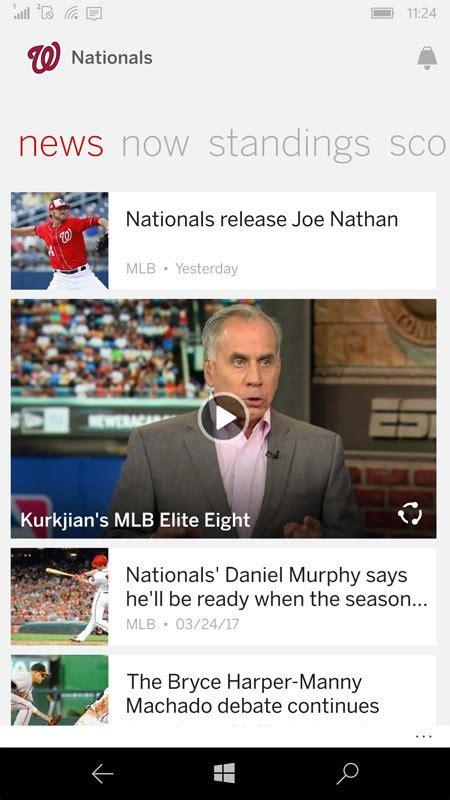 espn mlb scores mobile best major league baseball apps for windows 10 windows