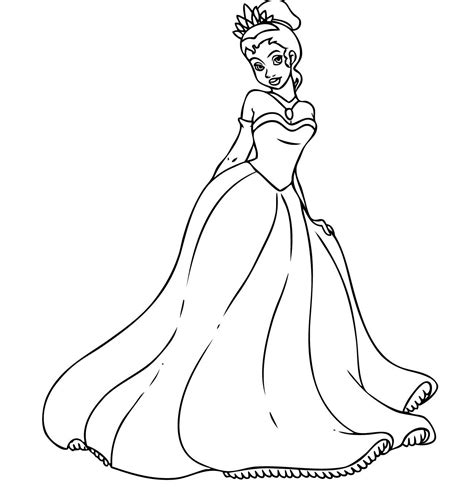 printable coloring pages princess free printable princess coloring pages for