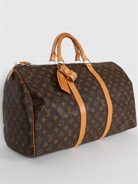 Ultra Exclusive Bags From Louis Vuitton by Louis Vuitton Keepall 50 Monogram Canvas Luxury Bags