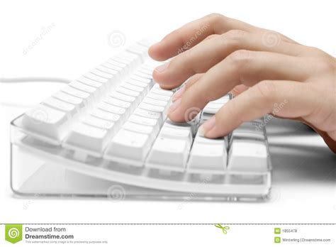 free stock photo hands over keyboard typing on a white computer keyboard royalty free stock