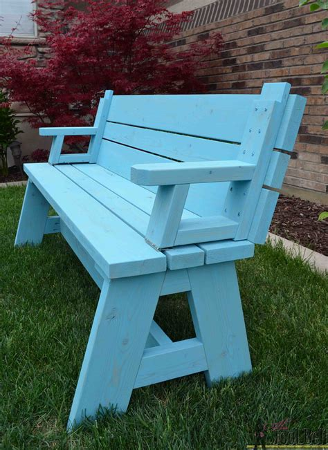 convertible picnic table and bench tool belt