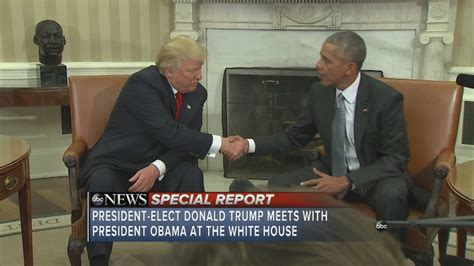 obama s oval office vs trumps president elect donald trump meets with president obama in