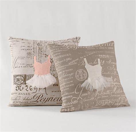 Decorative Cushions Appliqu 233 D Ballerina Decorative Pillow Cover Insert