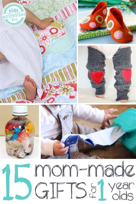 15 precious homemade gifts for a 1 year old