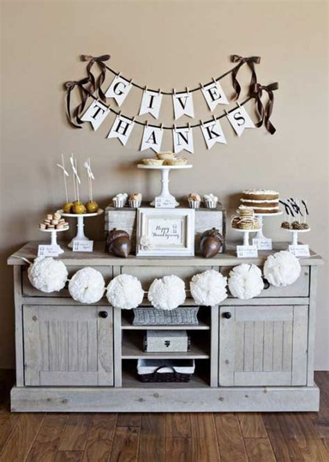 thanksgiving decorating ideas for the home 28 great diy decor ideas for the best thanksgiving holiday