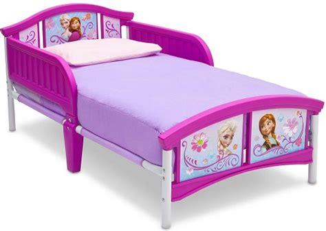 toddler bed with mattress bundle delta children disney frozen plastic toddler bed with crib