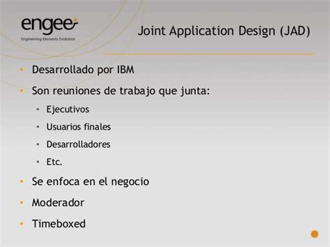 joint application design definition introducci 243 n al an 225 lisis y relevamiento