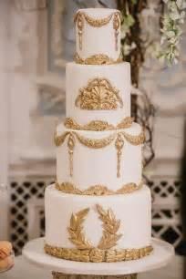 gold wedding white amp gold wedding cakes 2097280 weddbook