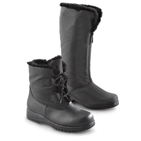 totes waterproof womens boots s totes 174 waterproof shaft boots with front