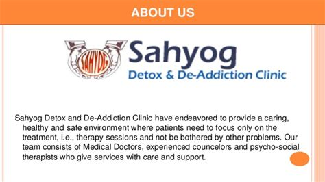 Patients Needing Social Detox by Causes And Effects Of Abuse By Sahyog Clinic