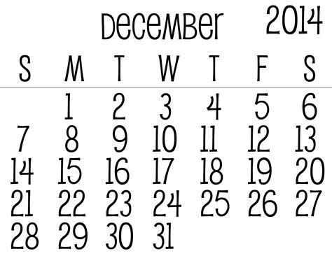 printable month calendar december 2014 december 2014 month calendar template 2016