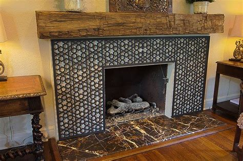 Stone Fireplace Photos moroccan ironwork fireplace stone masters of texas