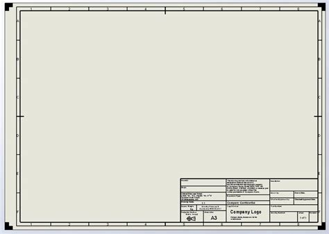 technical drawing templates solidworks engineering drawing