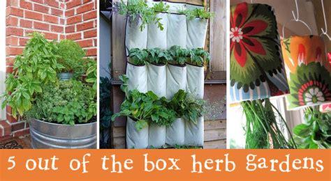 Herb Garden Gift Ideas 5 Fantastic Herb Garden Ideas Creative Gift Ideas News At Catching Fireflies