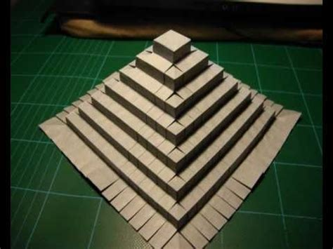 How To Make An Pyramid Out Of Paper - origami pyramid