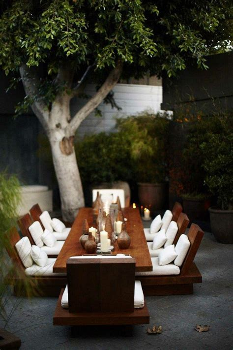 superior Dining Room Wall Colors #4: modern-outdoor-Japanese-dining-tables.jpg