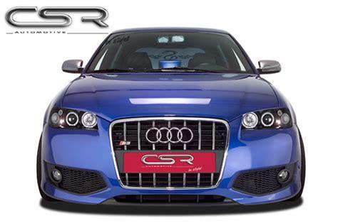 Audi S3 8l Spoiler by S3 Singleframe Front Bumper Spoiler Apron For Audi A3 8l