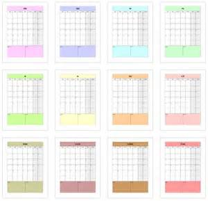 Calendrier A Imprimer Gratuit 1000 Id 233 Es Sur Le Th 232 Me 2017 Calendar Printable Sur