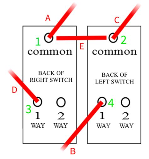 2 way switch wiring problem diynot forums