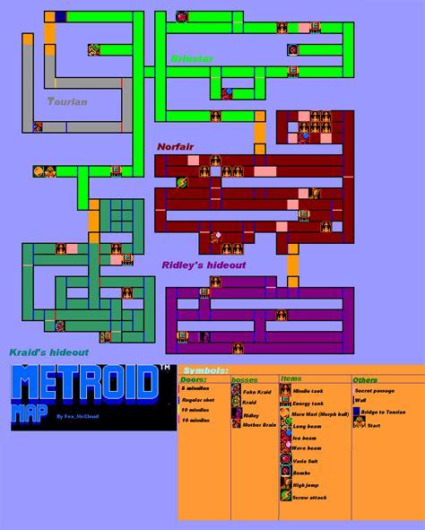 nes maps metroid nes map mapas de jogos maps