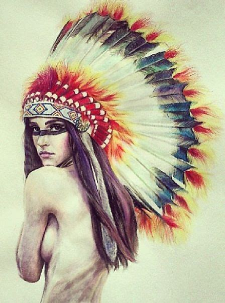 indian headdress tattoo designs american princess headress