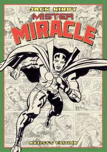 mister miracle by kirby new edition kirby s mister miracle artist edition from idw dc comics