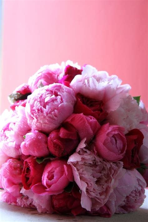 pink peonies and other flowers from long ago new england 22 best tall centerpiece ideas images on pinterest