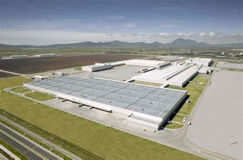 Audi De Mexico by Audi Opens American Plant In Mexico