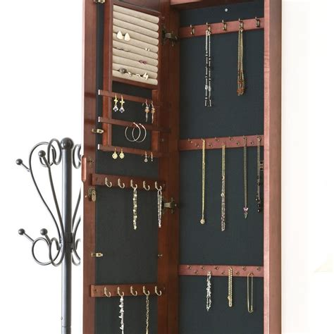 Hanging Jewelry Armoire by Let S Manage Your Jewelry Collections Tidily In This