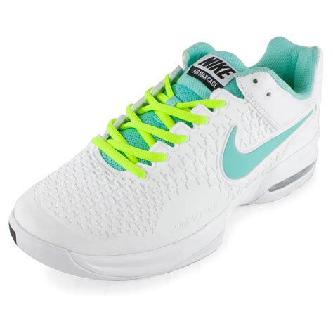 nike womens air max cage tennis shoes wh volt
