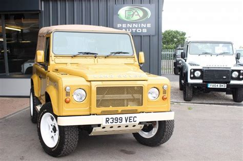 buy car manuals 1997 land rover defender 90 used 1997 land rover defender 90 2 5 300tdi county pick up automatic awesome for sale in w