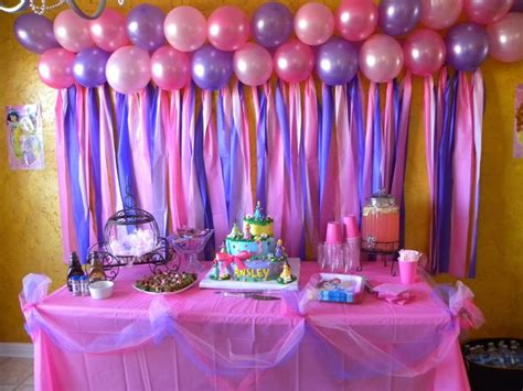 simple home decoration for birthday ideas about disney princess decorations plus simple