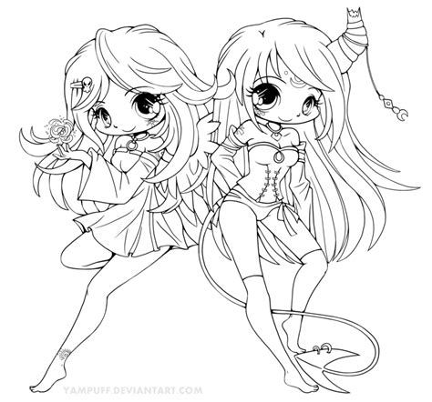 angel chibi anime coloring pages coloring pages