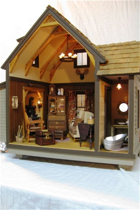 custom made doll houses unique dollhouses and custom made miniature roomboxes