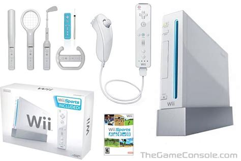wii gaming console thegameconsole nintendo wii console