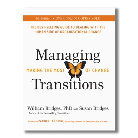 the transition a novel books books william bridges associates