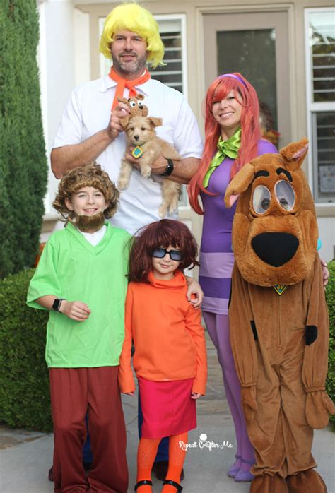 scooby doo gang family costume repeat crafter