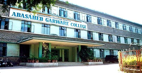 Mes College Marally Mba Fees by M E S Abasaheb Garware College Pune Courses Fees 2018 2019