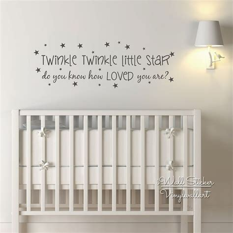 Nursery Wall Sticker Quotes 25 best nursery wall quotes on pinterest