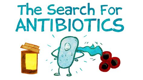 Find For The Search For New Antibiotics