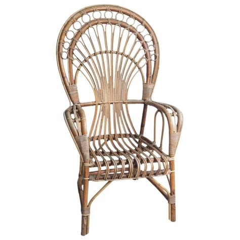 iconic chairs iconic rattan peacock chair 1970s for sale at 1stdibs