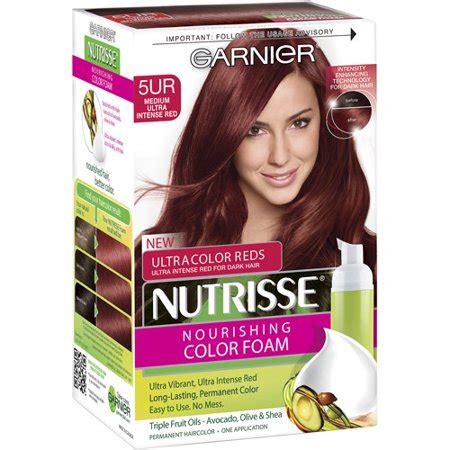 garnier foam hair color garnier nutrisse nourishing color foam haircolor walmart